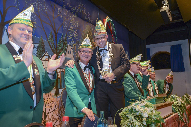 Mdächensitzung 2019. 1. Große KG Sieglar. Foto: Carsten Seim